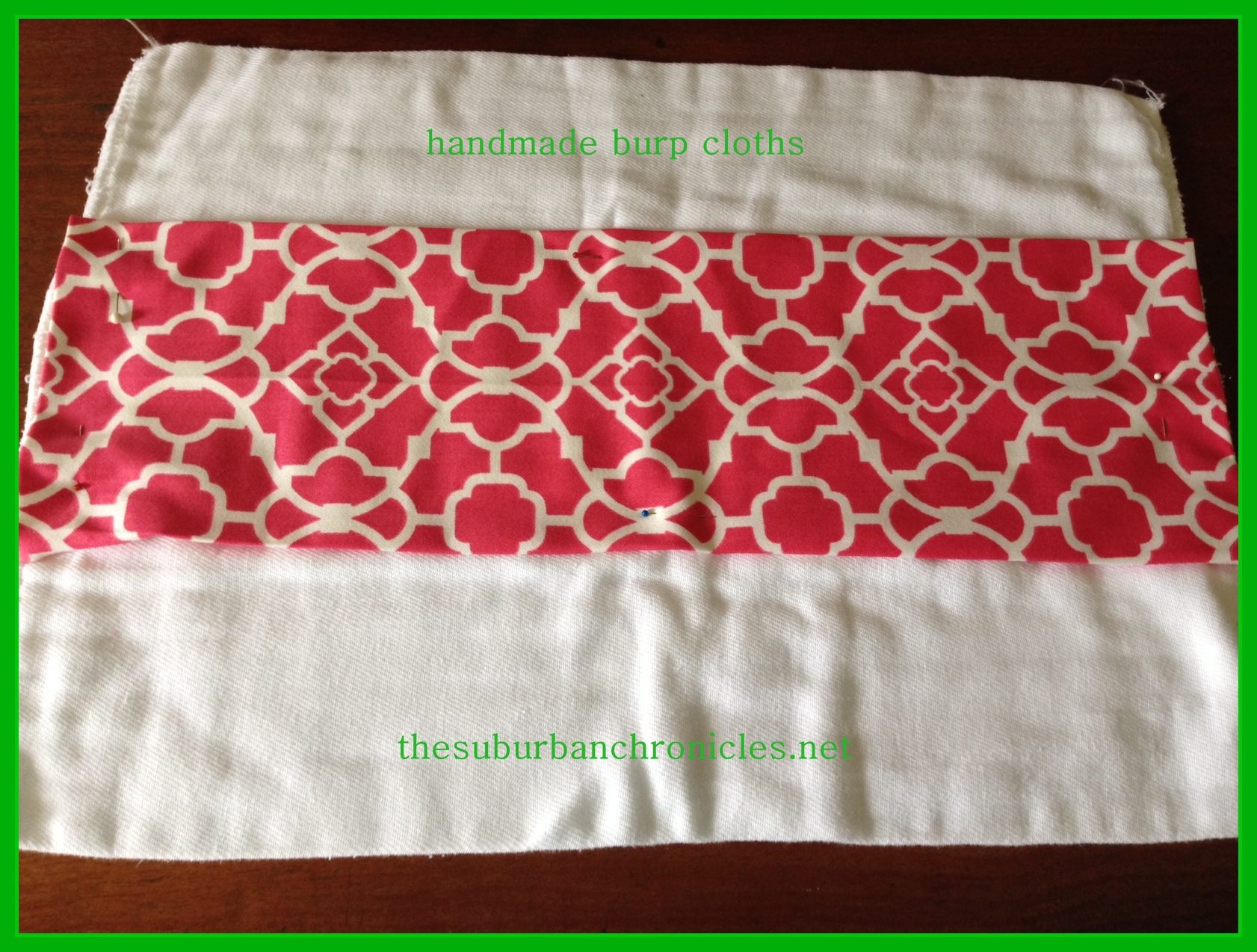 Diy Sew A Burp Cloth In 30 Minutes Or Less The