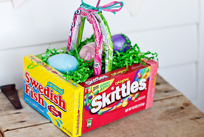 Fun diy easter ideas the suburban chronicles make one as a centerpiece or for special delivery on easter morning try five below for the best selection of candy at a great price negle Image collections